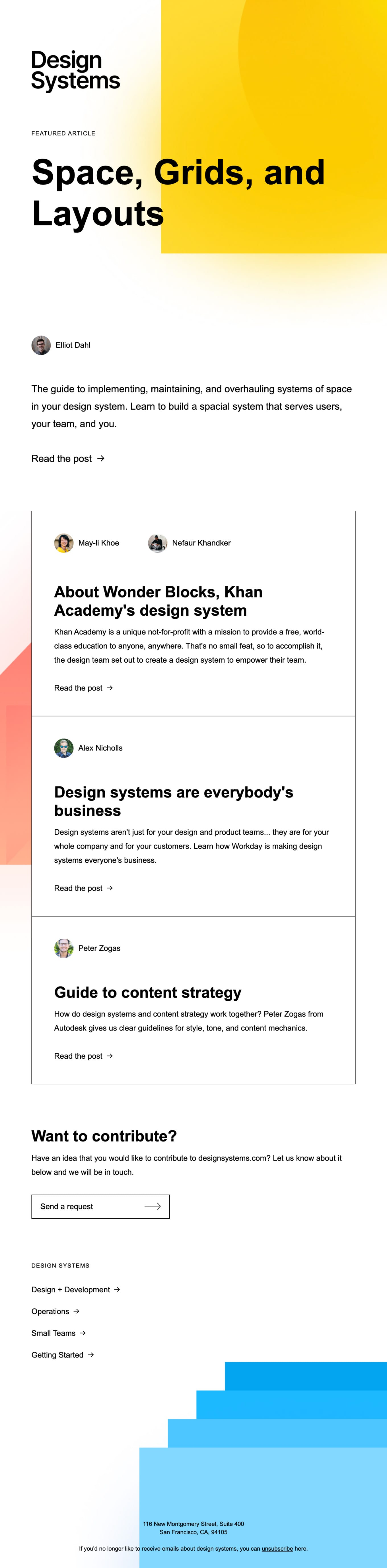Learn from design leaders at Khan Academy, Lattice, Workday, & more Email Screenshot